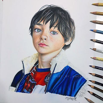 Last portrait finished before I head to