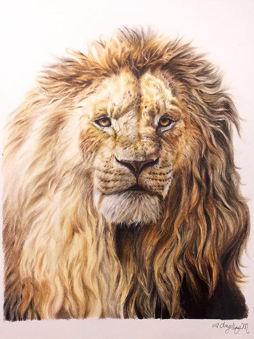 Magnificent Lion | ORIGINAL Portrait