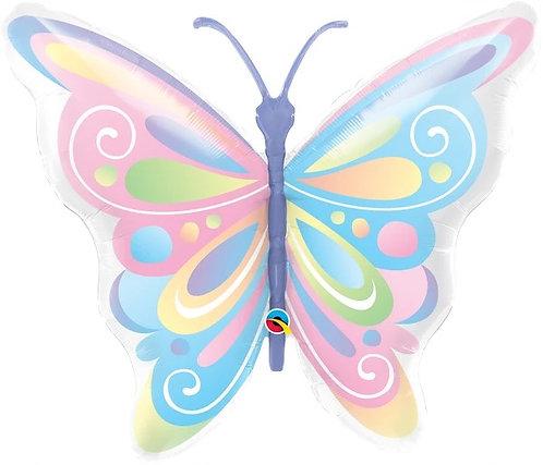 """40"""" Beautiful Butterfly Helium Balloon - z84"""