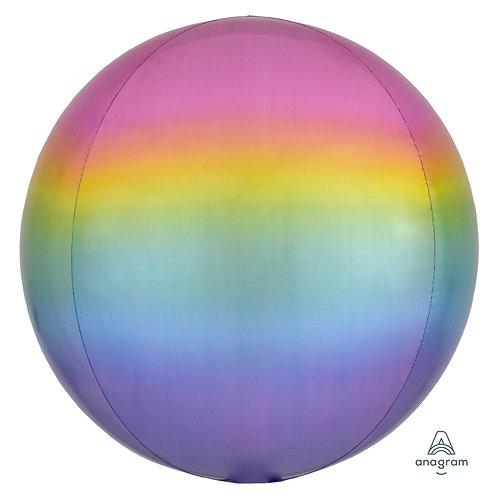 """16"""" Orbz Sphere Shape Balloon - Pastel"""