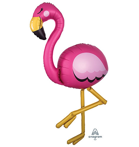 "68"" Flamingo Air Walker Helium Balloon - g27"