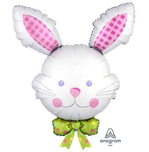 "34"" Happy Hop Bunny Helium Balloon - z11"