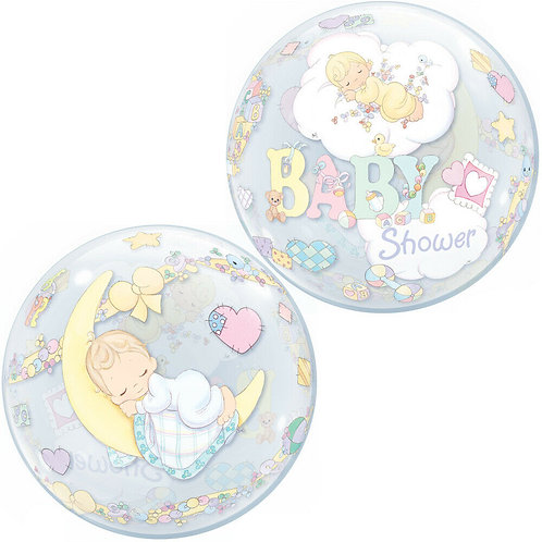 "22"" Precious Moments Baby Shower Helium Balloon"