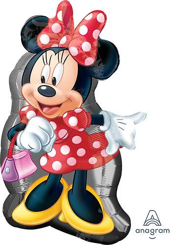 "32"" Minnie Mouse Full Body Helium Balloon - m24"