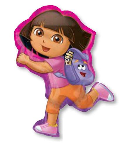 "32"" Dora Off Exploring Helium Balloon - d14"