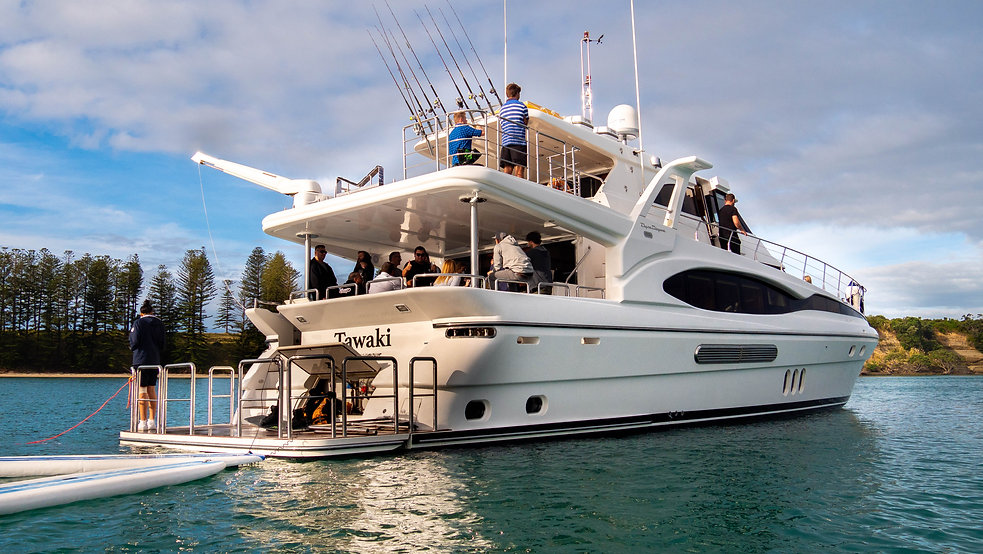 corporate yacht charters auckland