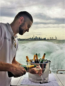 luxury yacht party auckland