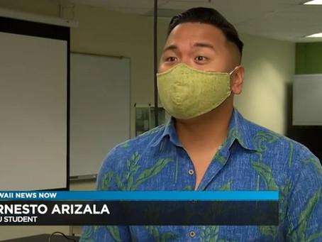 Hawaii News Now Features 2018 Alumni