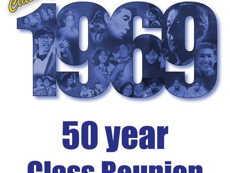 Class of 1969, 50 Year Anniversary Reunion