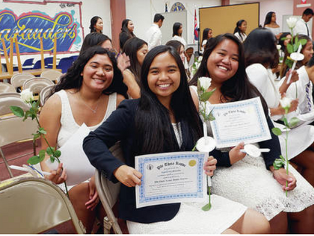 Waipahu High is first in nation with Phi Theta Kappa chapter