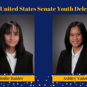 2 Waipahu High Seniors Selected to Represent Hawaii as US Youth Senate Delegates