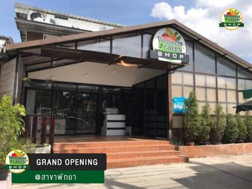 เปิดแล้ว!! ร้าน WELLNESS GREEN SHOP สาขาพัทยา