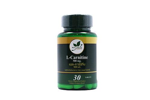 L-Carnithine 500 mg.