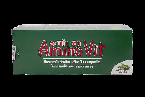 BC Amino Vit (บีซี อะมิโนวิต) รสชาเขียว