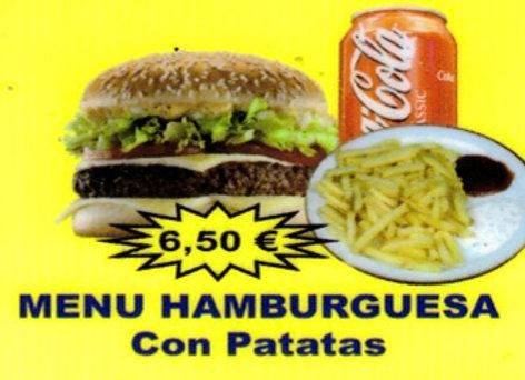 Chandni: Hamburguesa