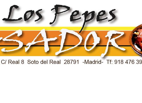 Asador Los Pepes: Gambas de Huelva a la plancha