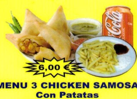 Chandni: Chicken samosa