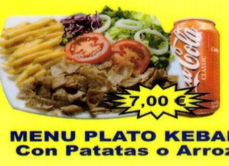 Chandni: Plato Kebab