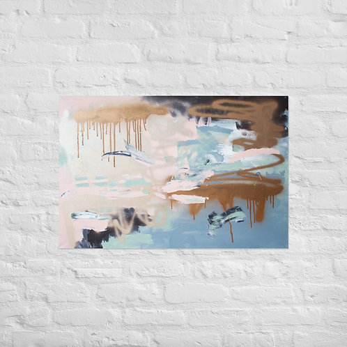 Epically Aligned Art Print Poster