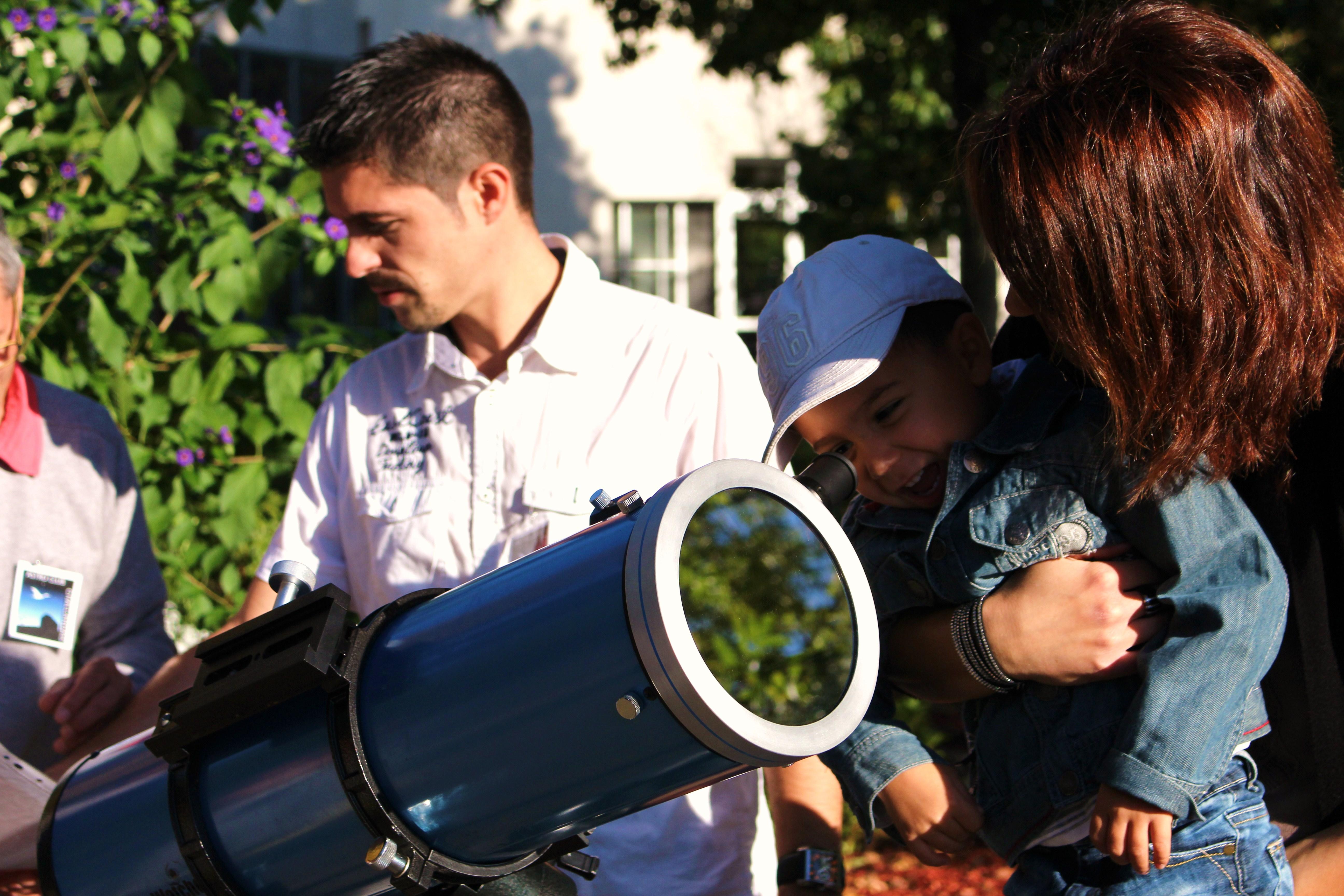 Observation du soleil Festival