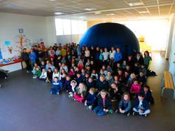 Planétarium à l'école la Pironnière