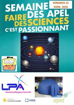 Planétarium Saint Julien des Landes