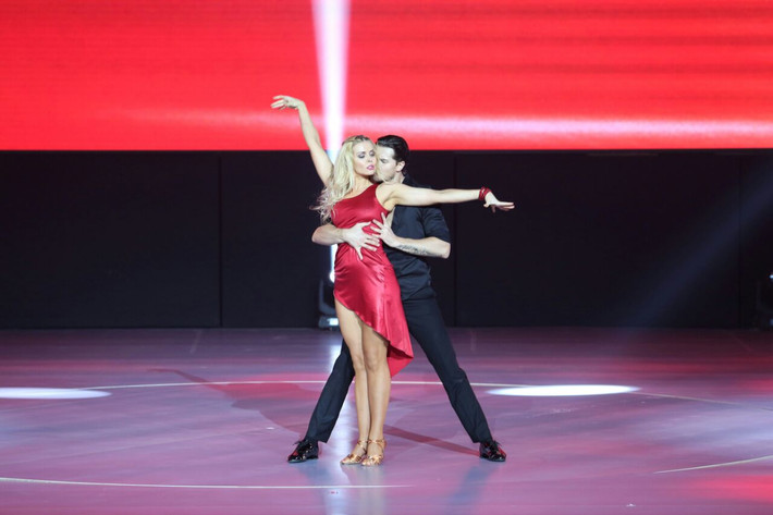 Elena and Gleb new show dance