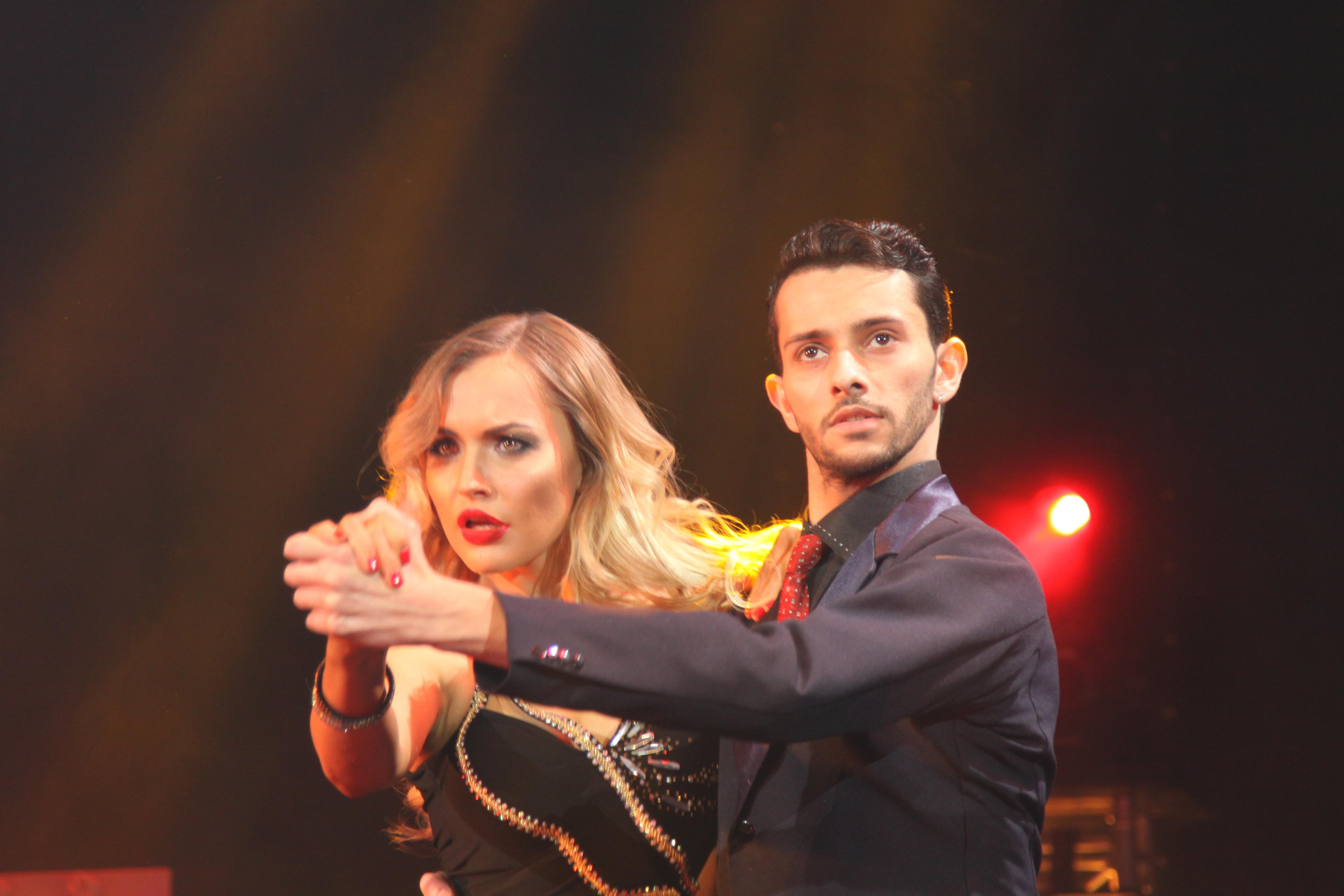 Anna Gorodgaya and partner