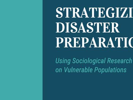 Strategizing Disaster Preparation