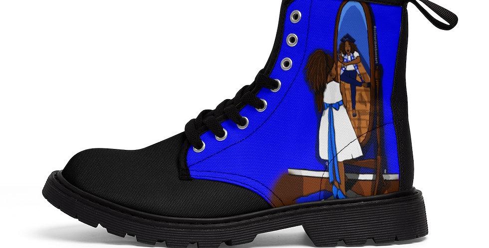 Future Zeta Canvas Boots