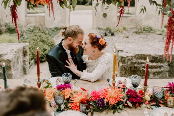 Colorful Tiny Wedding