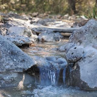 Limestone Waterfall