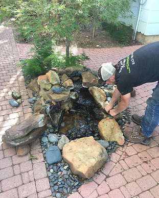 Waterfall Service, Waterfall Maintenance, Waterfall Repair, Waterfall Replacement, Waterfall Cleaning, Water Feature Repairs, Leak Repair