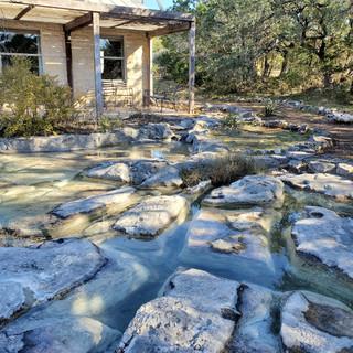 Natural Limestone Pond