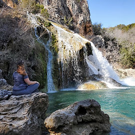 Waterfall, Wellness Through Water, Meditation