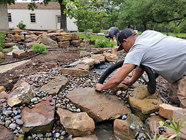 Pond Cleaning, Pond Services, Koi Pond, Koi Pond Care, Georgetown Texas, Pond Vaccuum, Water Feature Cleaning, Water Feature Services