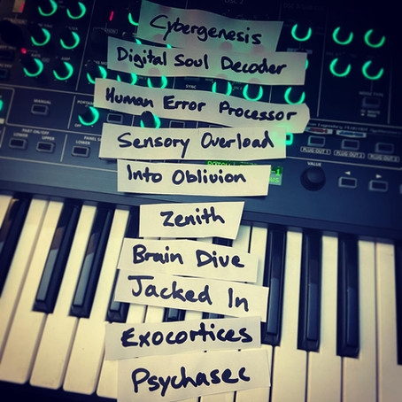 Album ritual complete 🤘🏻🤖#tracklisting #cybergenesis Update coming soon. 🙂
