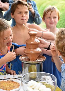 chocolat fountain2