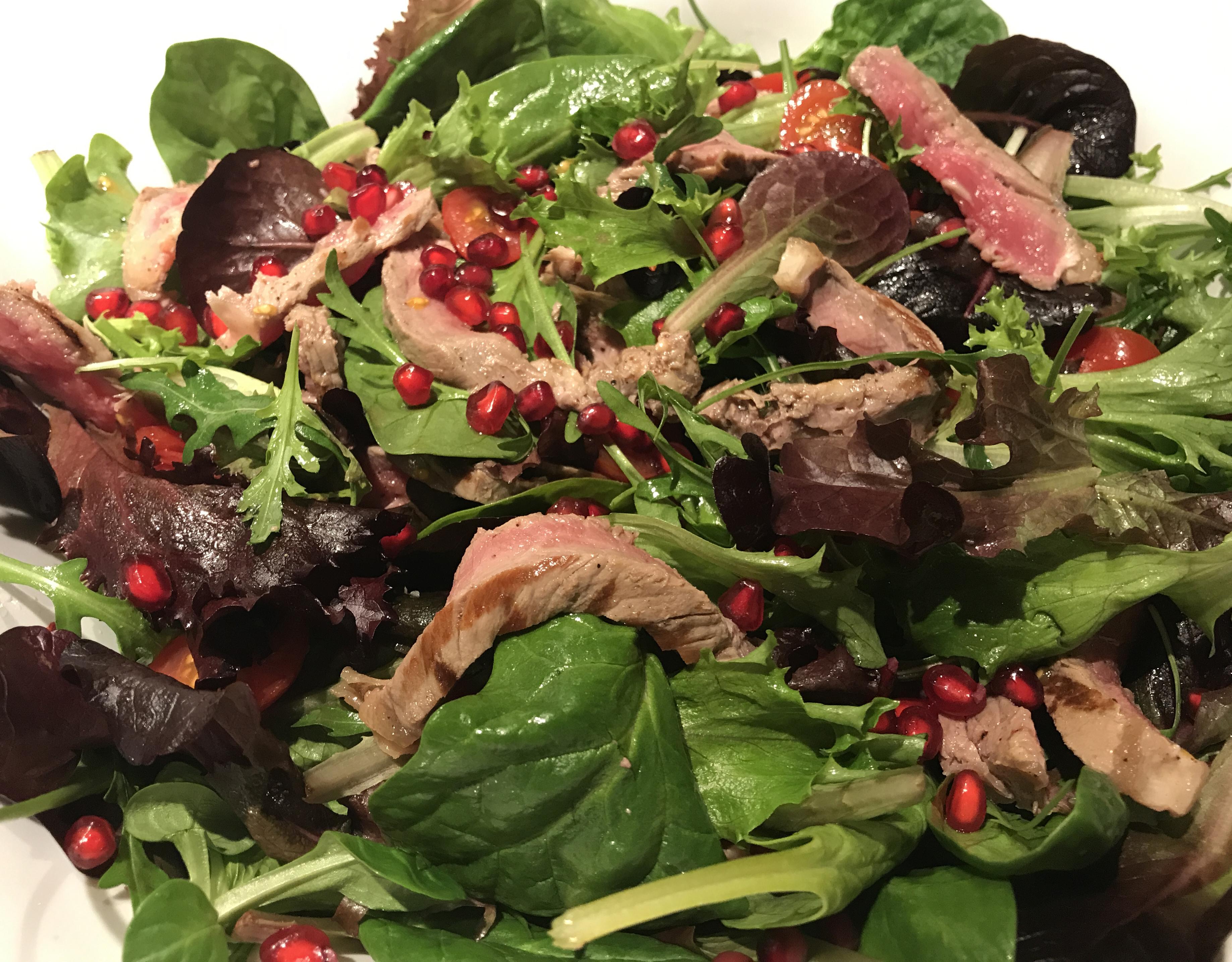 thaise salade met rundsvlees