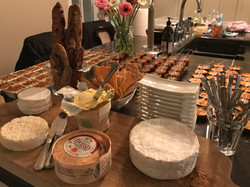 sweet table and cheese