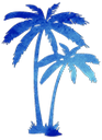 ヤシの木,ヤシ,外構,リゾート,南国,カリフォルニア
