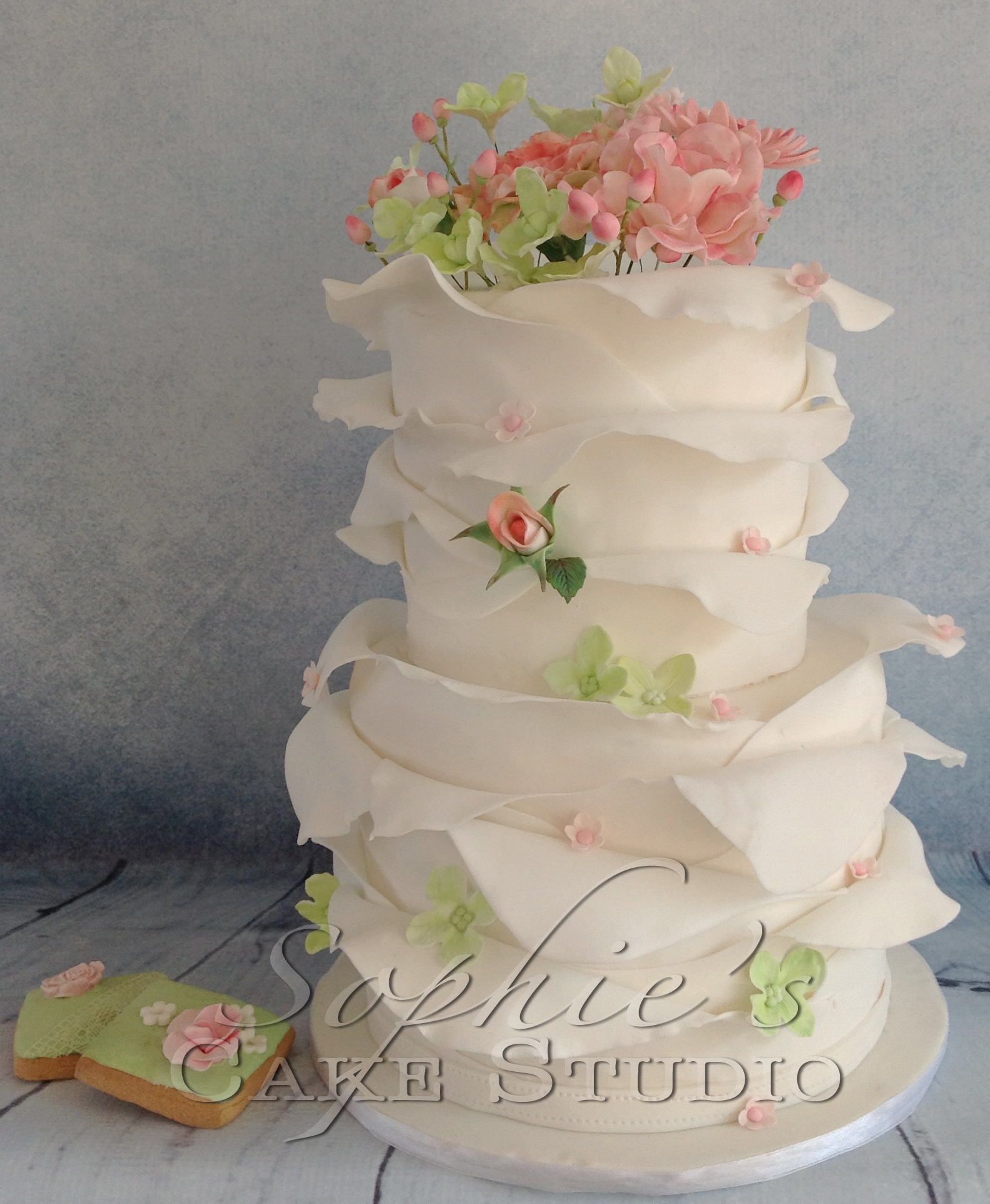 spring weddingcake