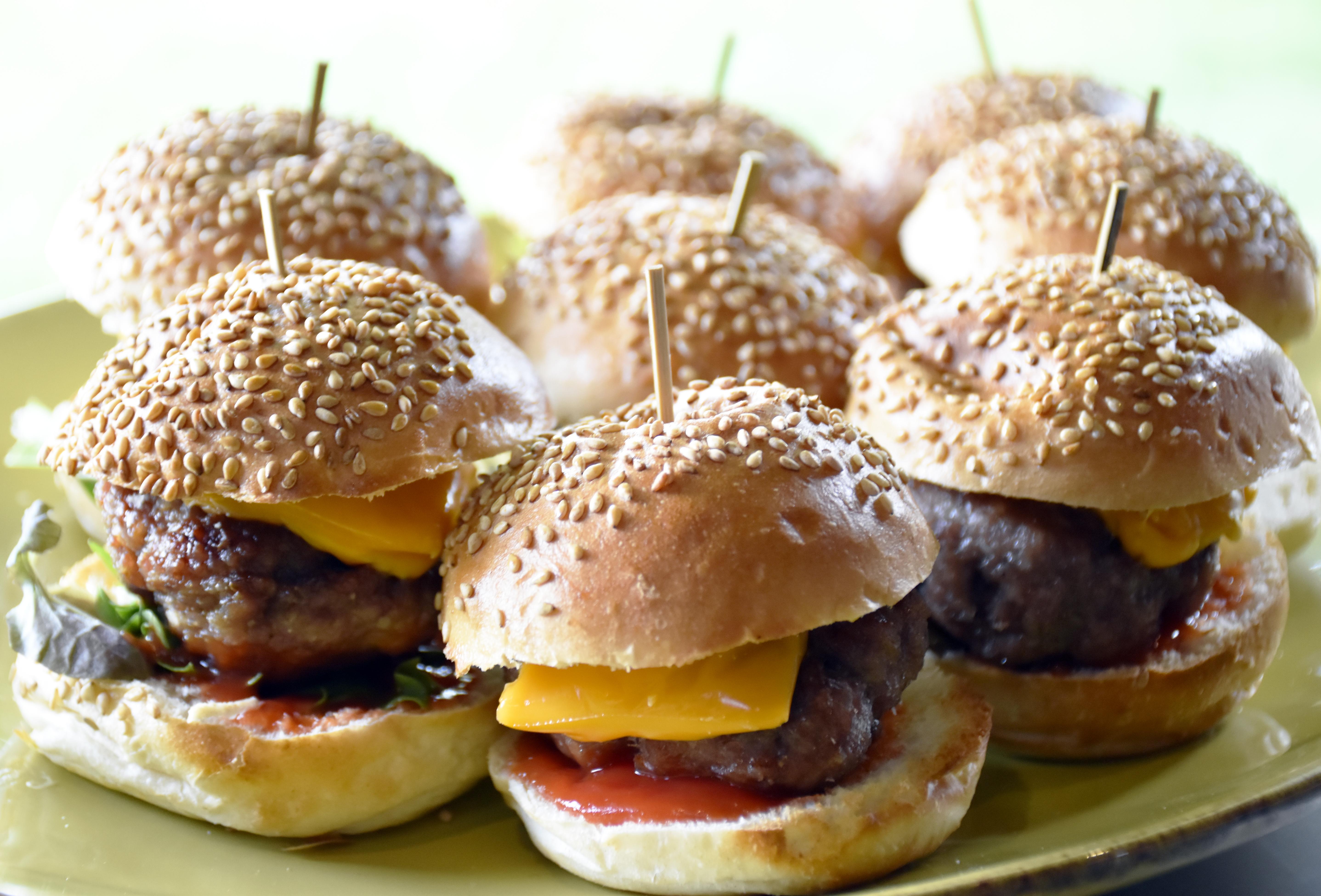 minihamburgers