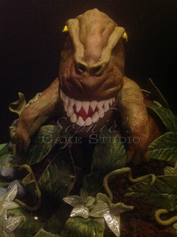 t-rex cake watermark