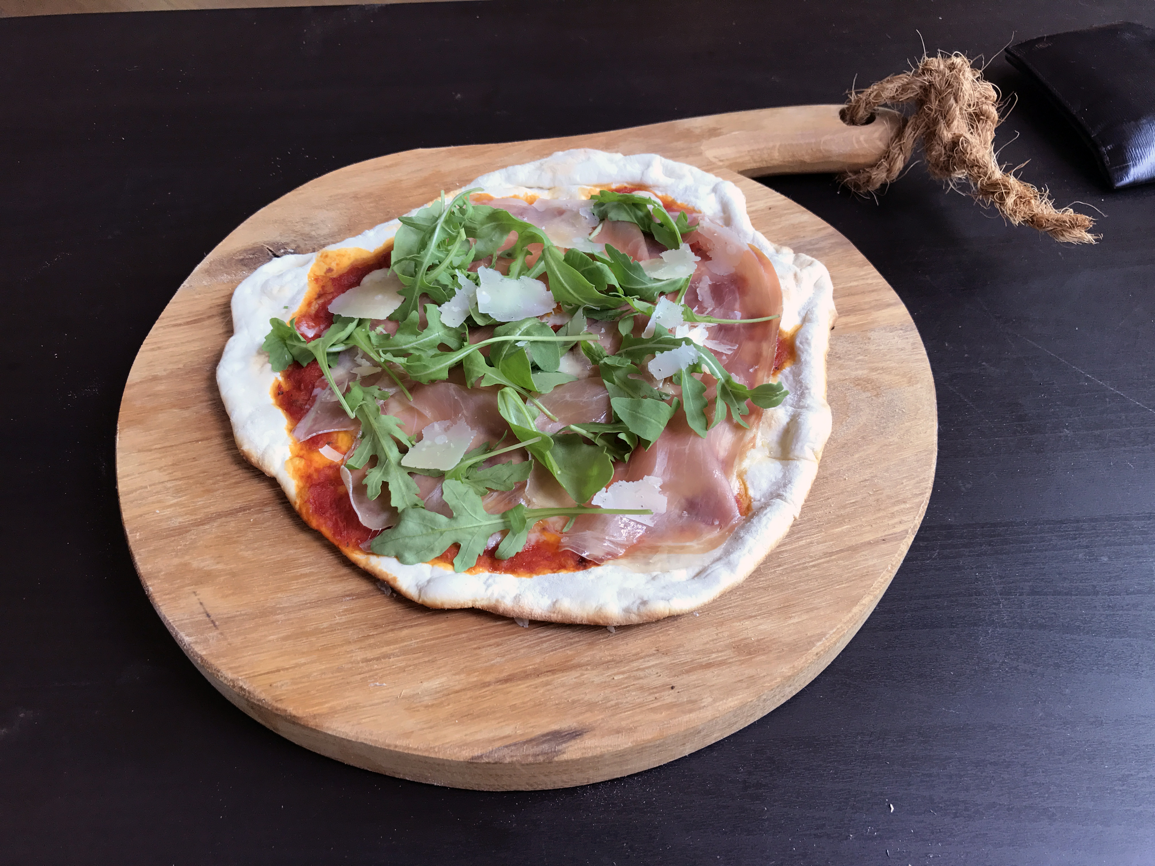 Pizza Crudo