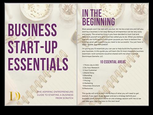 Business Start-Up Essentials