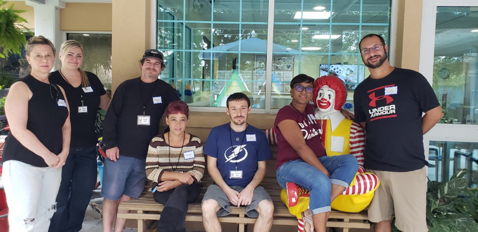 Priority One Volunteering at Ronald McDonald House