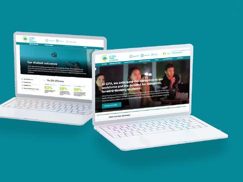 GLOBAL PREP ACADEMY // UX/UI Design