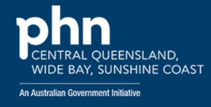 Central Queensland, Wide Bay & Sunshine Coast PHN