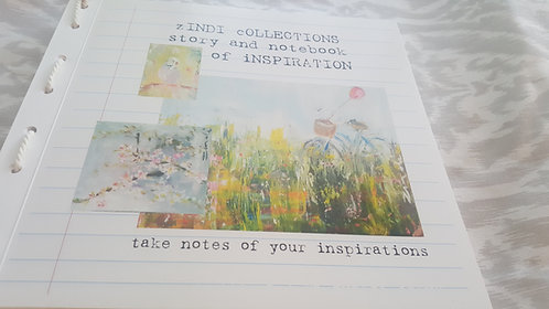 Zindi Collections story and note book